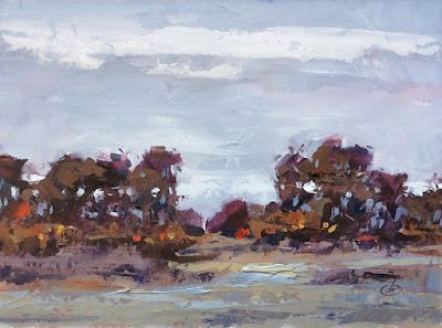 EARLY MORNING LANDSCAPE by TOM BROWN
