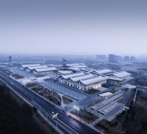 Shijiazhuang International Convention & Exhibition Center / THAD