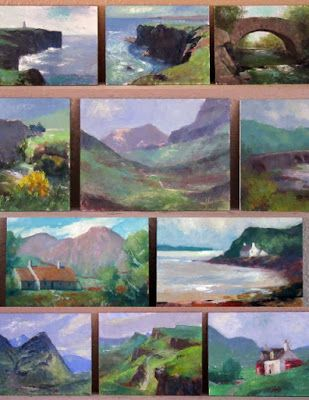 Wee Scotland Paintings, Workshops at Grand Canyon and .. Sedona!
