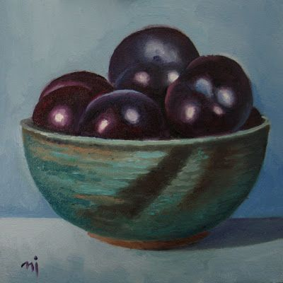 Pottery and Plums