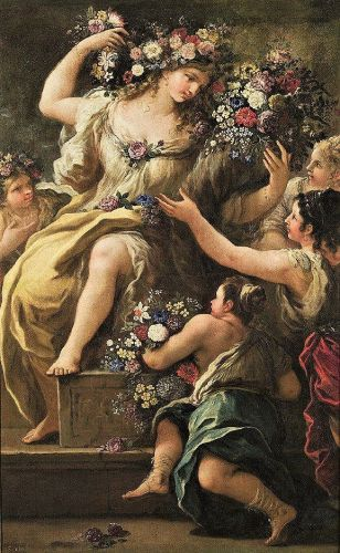Celebrating The Earth's Beauty - 1697 Goddess Flora, Goddess of Flowers