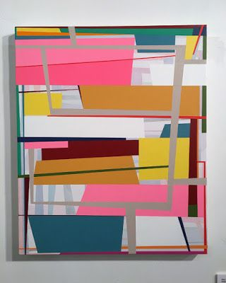 """""""Shake and Bake"""" aesthetics in contemporary abstraction"""