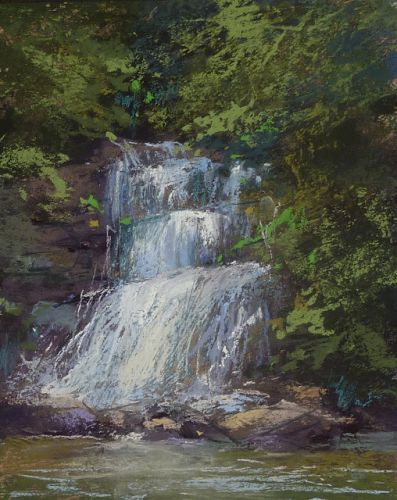 A Fun Tip for Painting a Waterfall