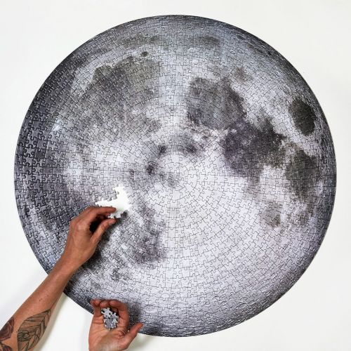 New in the Colossal Shop: The 1000-Piece Full Moon Puzzle
