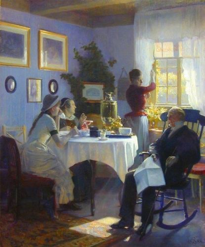 Danish Late-1800s Paintings by Carl Tomsen
