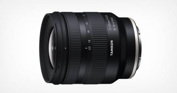 Tamron Unveils World's First 11-20mm f/2.8 Lens for Sony APS-C E-Mount