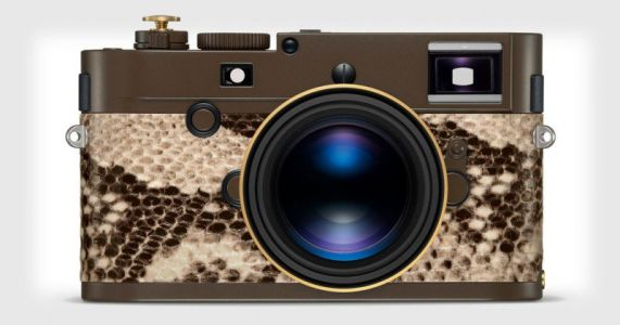 Lenny Kravitz Designed a $24K Leica with Faux Python Skin