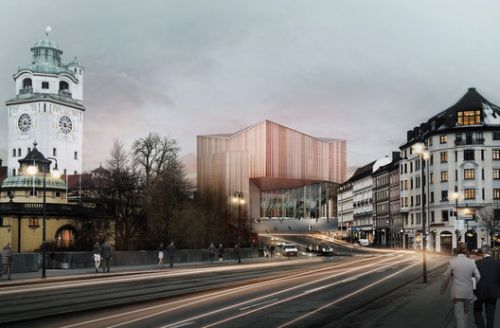 Auer Weber Among Three Finalists in Munich's Gasteig Redesign Competition