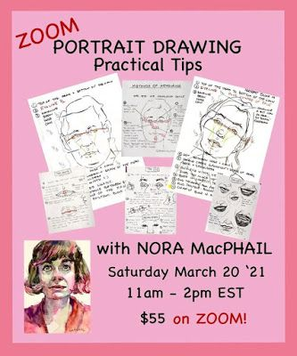 Portraits Drawing Practical Tips. Again!