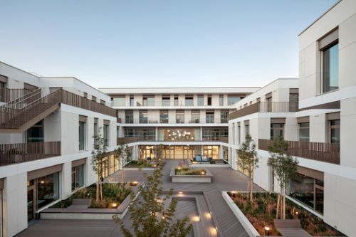 Vienna West High School / SHIBUKAWA EDER Architects + F+P Architekten