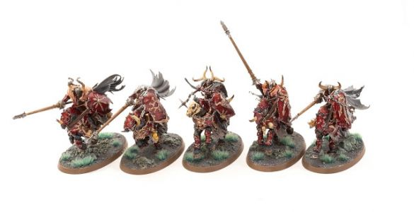 Showcase: Slaves to Darkness Chaos Knights