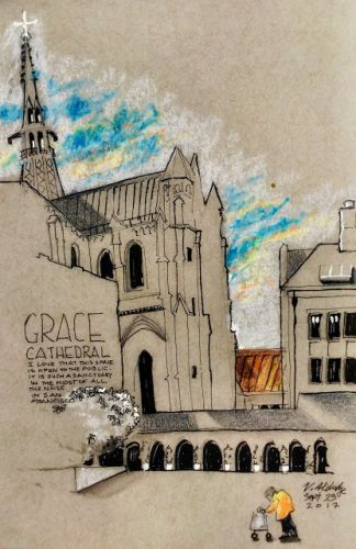 Grace Cathedral - a Story Around Every Corner