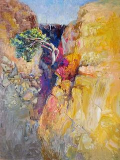 "New ""Sheer Determination"" Palette Knife Painting by Niki Gulley"