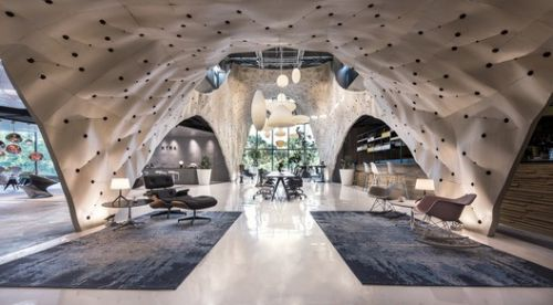 "PRODUCE Workshop's ""Fabricwood"" Named World's Best Interior of 2017"