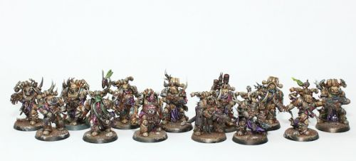 WIP: Death Guard Apostles of Contagion 4
