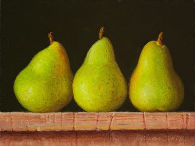 Pears a painting a day