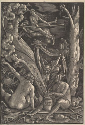 Hans Baldung Grien. Gifted artist with an unknown birthdate