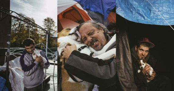 Unconditional Love: Portraits of People and Pets in a Seattle Homeless Camp