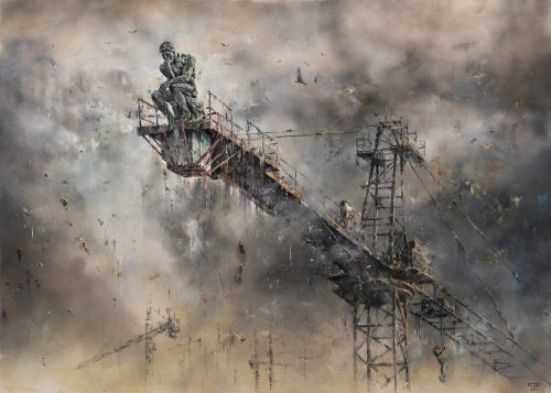 Poignant New Works by Pejac Confront the Urgency of Global Crises in Disquieting Detail