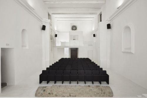 Transformation of Saint Rocco's Church into a Theater / Luigi Valente + Mauro Di Bona