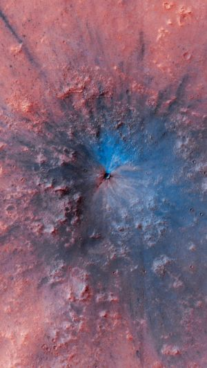Mars is cold as Hell