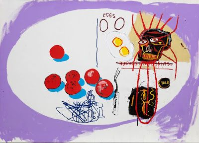 Basquiat x Warhol at The School