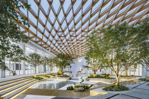 Venue B of Shanghai Westbund World Artificial Intelligence Conference / Archi-Union Architecture