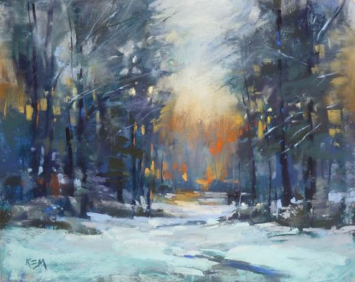 Why Choose a Blue Underpainting?