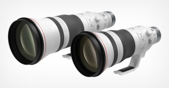 Canon Identically Ports its 500mm f/2.8L and 600mm f/4L from EF to RF