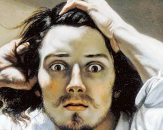 Courbet. 19th century French painter who still has the power to shock
