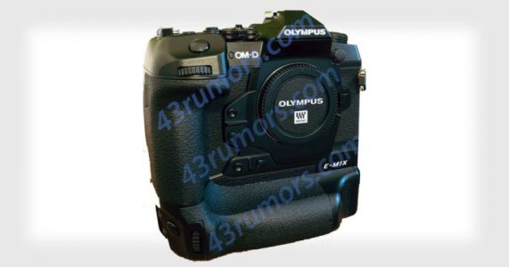 Leaked Photos Reveal the Olympus OM-D E-M1X