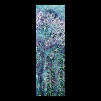 """Daydreams"", Original Batik Painting by Colorado Artist, Donna L. Martin"