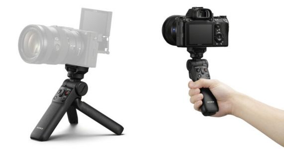 Sony Unveils Wireless Shooting Grip for Mirrorless Cameras