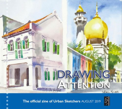 Drawing Attention August 2019