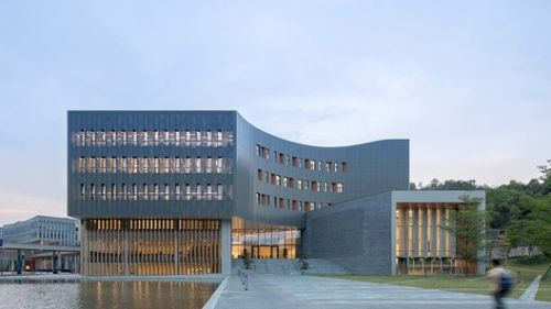 Library of the Chinese University of Hong Kong's Shenzhen Campus / Wang Weijen Architecture