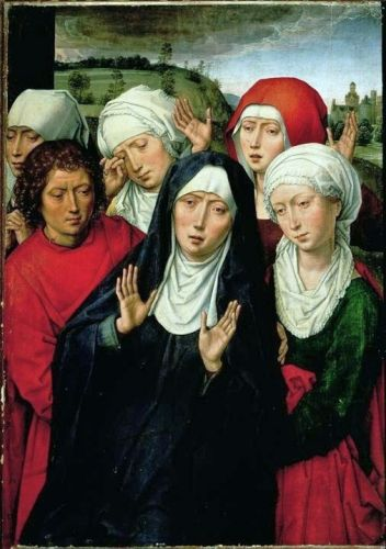 Easter - Good Friday - The Holy Women by Hans Memling (1435-1494)