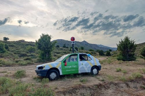 """""""Google Car"""" by Biancoshock in Corsica"""