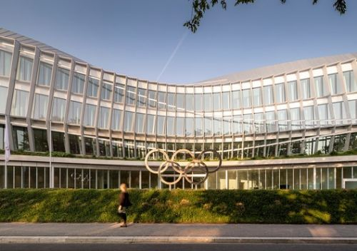 3XN's Olympic House Opens in Lausanne