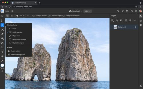 Adobe Brings Photoshop to the Web