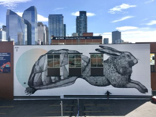 """""""The Haretoise"""" & """"The Ladybug"""" by AlfAlfA in Alberta and Quebec, Canada"""