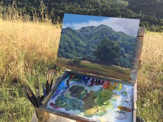 Carmel Art Festival and plein air painting