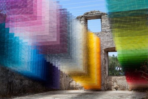 8 Vibrant Installations by Quintessenz Create Stunning Spaces of Color