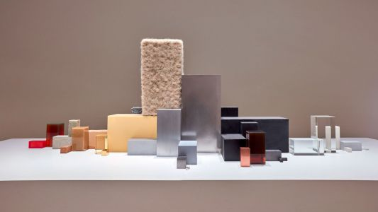 Everyday Consumer Goods Are De-Produced Into Rectangular Prisms of Raw Materials