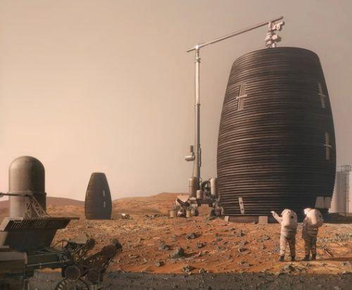 AI SpaceFactory Builds 3D Printed Mars Prototype for NASA
