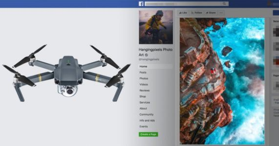 Photographer Turns Drone Shot Into a Facebook 3D Photo