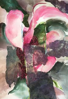 Anthuriums, Hawaii Artist Arlene G. Woo