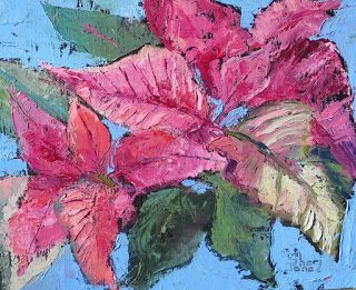 Pink, New Contemporary Painting by Sheri Jones