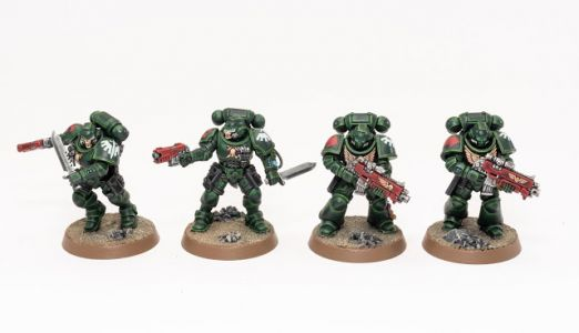 Showcase: Dark Angel Reivers and Intercessors