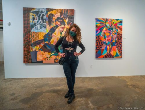 """Coverage - """"The Intricate Intimate"""" at Allouche Gallery NYC Co-Curated by Swoon, Monica Canilao, & BLK PALATE"""