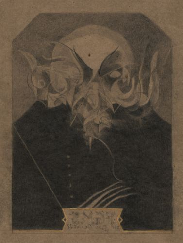 Study for the portrait of Max Schreck as Count Orlok
